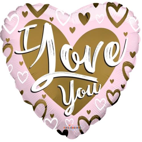 I love you goud/roze