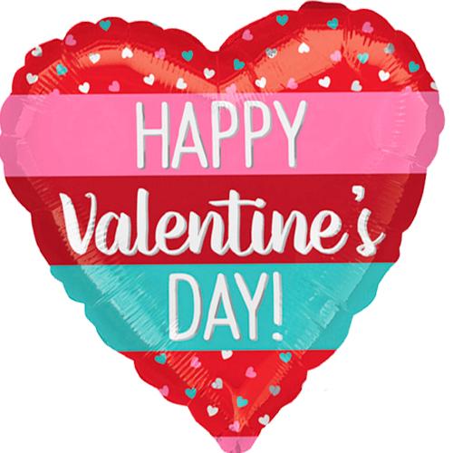 happy valentine's day stripes