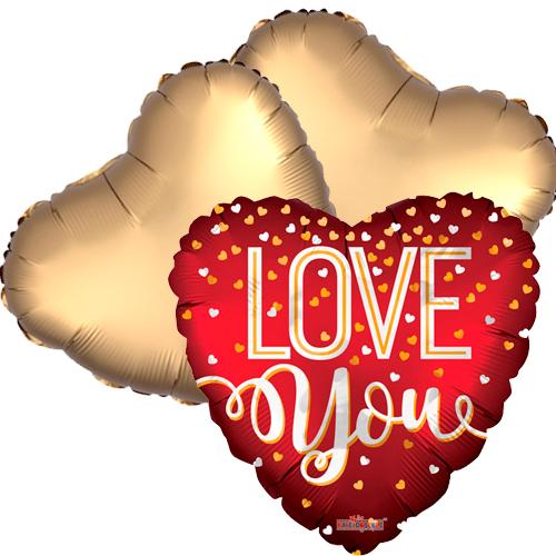 Ballonboeket Sparkling love