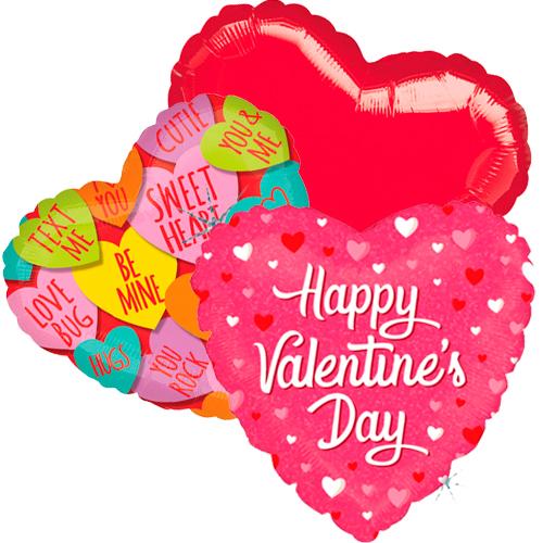 ballonboeket valentijn candy