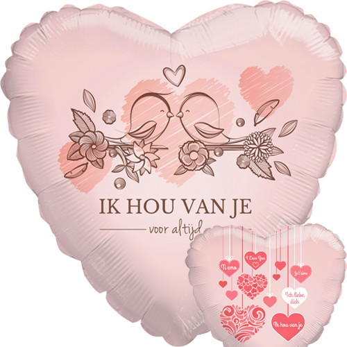 valentijntje, Liefde, Love, Ballonnen, Valentijnsdag ballonnen, Overige tekst ballonnen