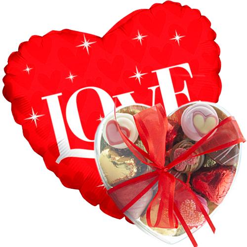 sparkle met valentijn bonbons