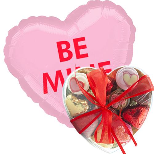 be mine met valentijn bonbons