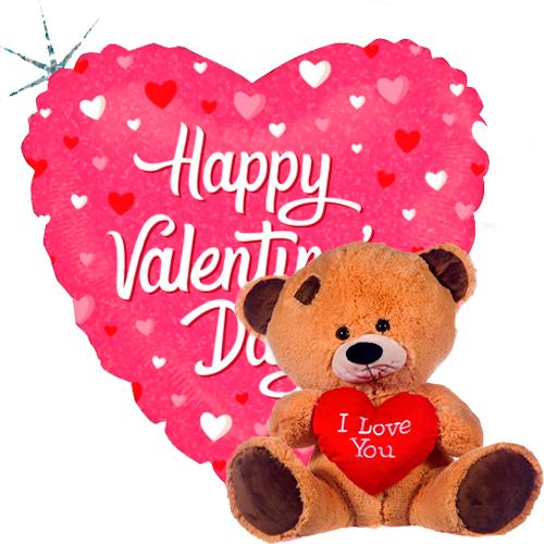 valentine hearts + beertje met hart