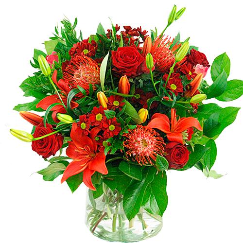 Valentijn boeket rood